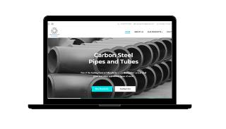 arham alloys website design