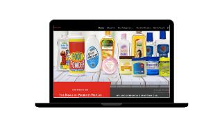 royal export website design